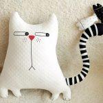 подушка кот фото видов