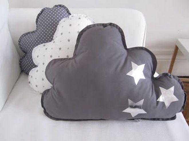 подушка облако дизайн