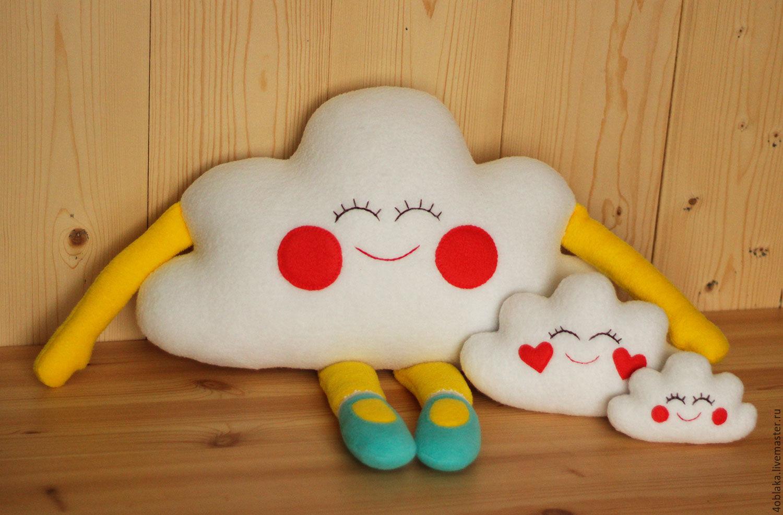 подушка облако фото оформление