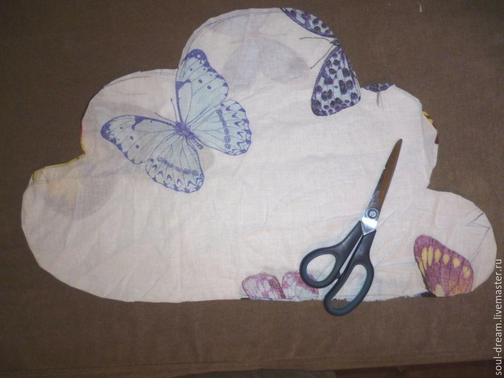 подушка облако детали