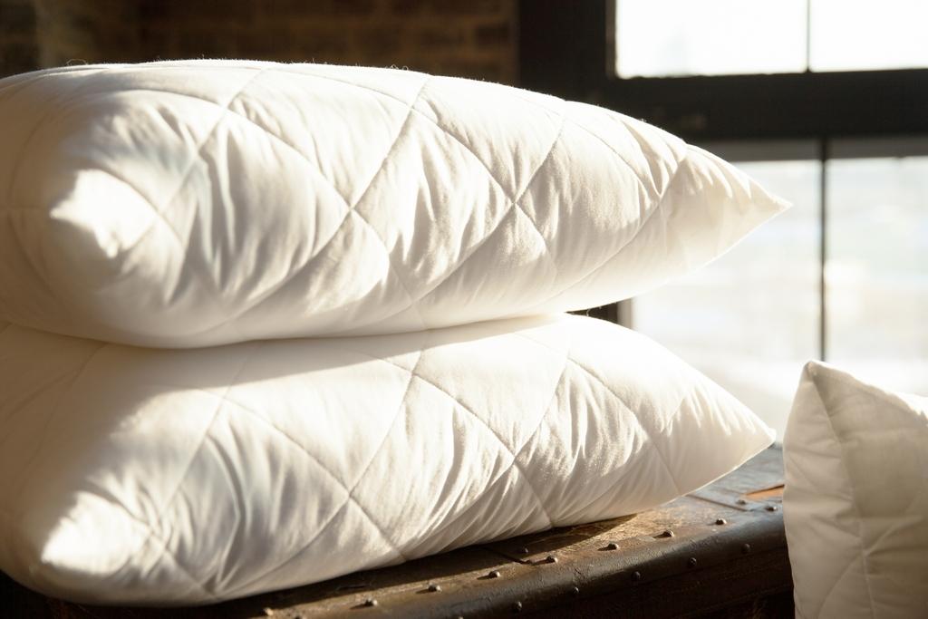 подушка перо