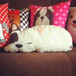 подушка собака фото виды