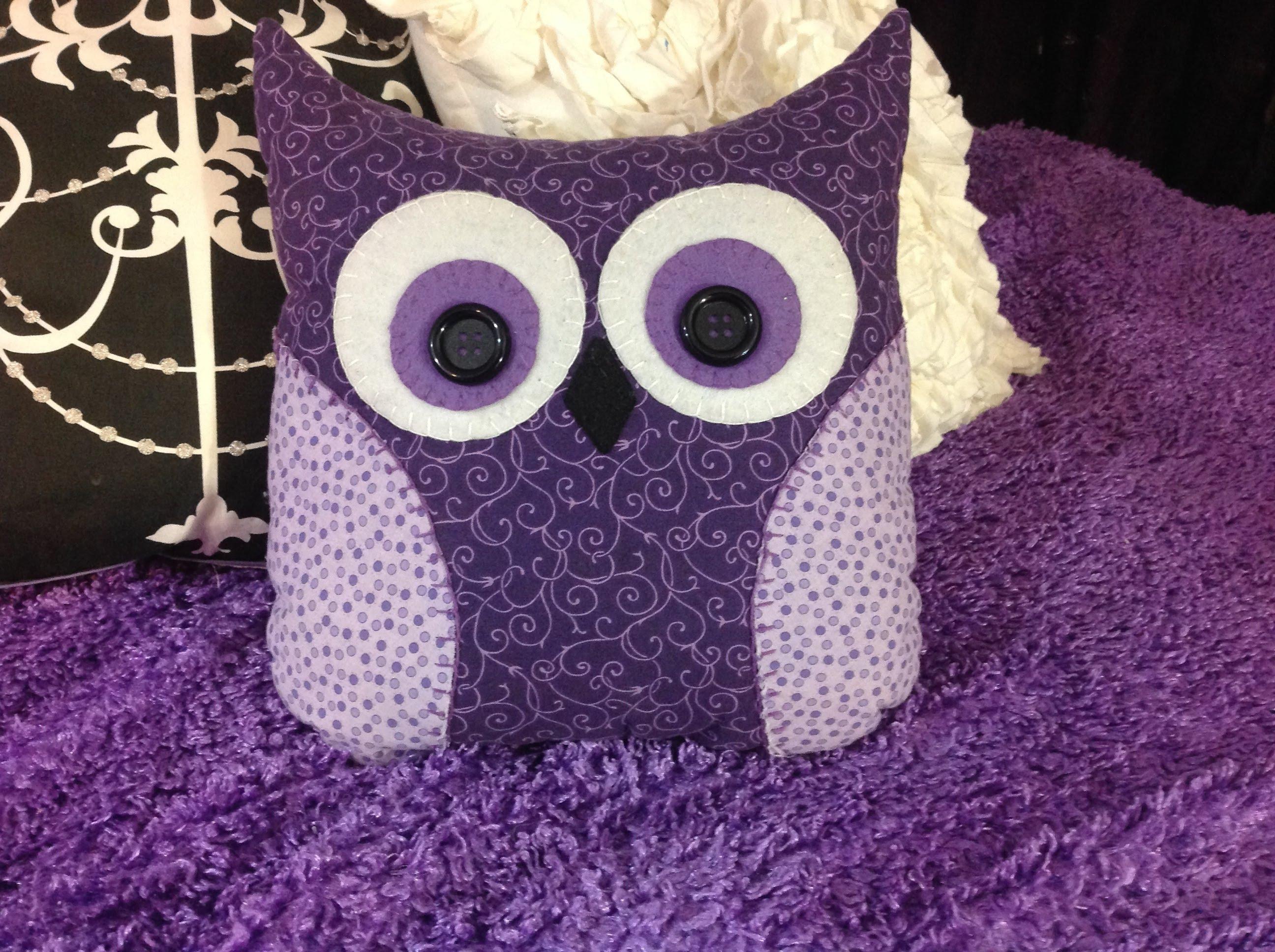 подушка сова фото