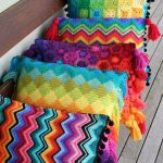 подушка вязаная дизайн