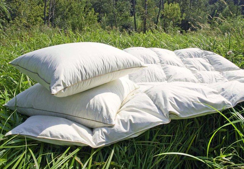 подушки из лебяжьего пуха проветривание