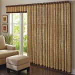 бамбуковые шторы со складками