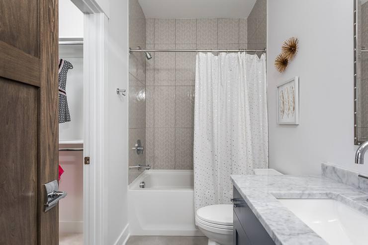 шторки для ванной комнаты фото оформление