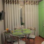 шторы для кухни на люверсах дизайн идеи