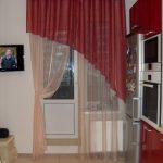 шторы для кухни на люверсах фото идеи