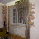 шторы для кухни на люверсах идеи интерьер