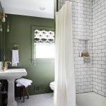 текстильные шторы для ванной фото варианты