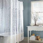 текстильные шторы для ванной виды фото