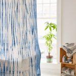 текстильные шторы для ванной идеи виды