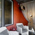 шторы на балкон декор фото