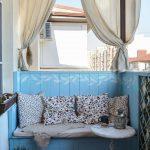 шторы на балкон декор оформление