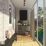 шторы на балкон дизайн идеи