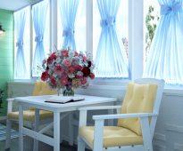 шторы на балкон фото идеи