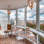 шторы на балкон идеи обзоры