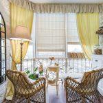 шторы на балкон идеи варианты