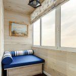 шторы на балкон варианты оформления