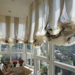 шторы на балкон виды декора