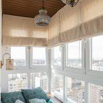 шторы на балкон виды оформления