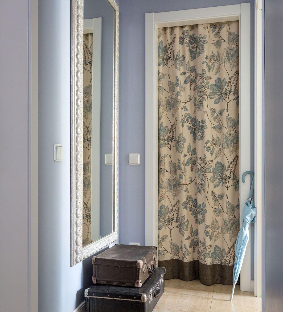 штора в гардеробной фото