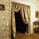 шторы на дверной проём декор идеи