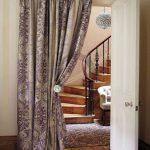 шторы на дверной проём декор виды идеи