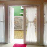 шторы на дверной проём фото идеи