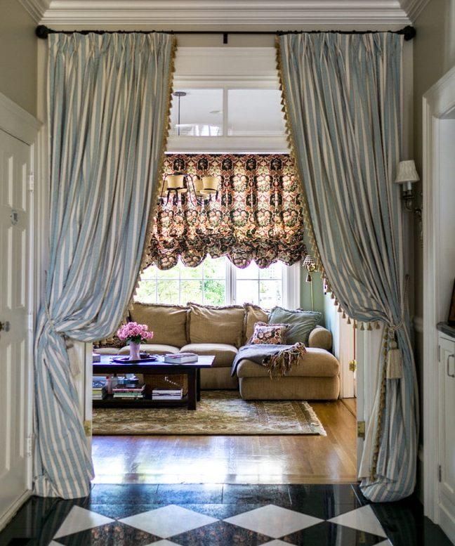 шторы на дверной проем фото