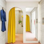 шторы на дверной проём обзор идеи
