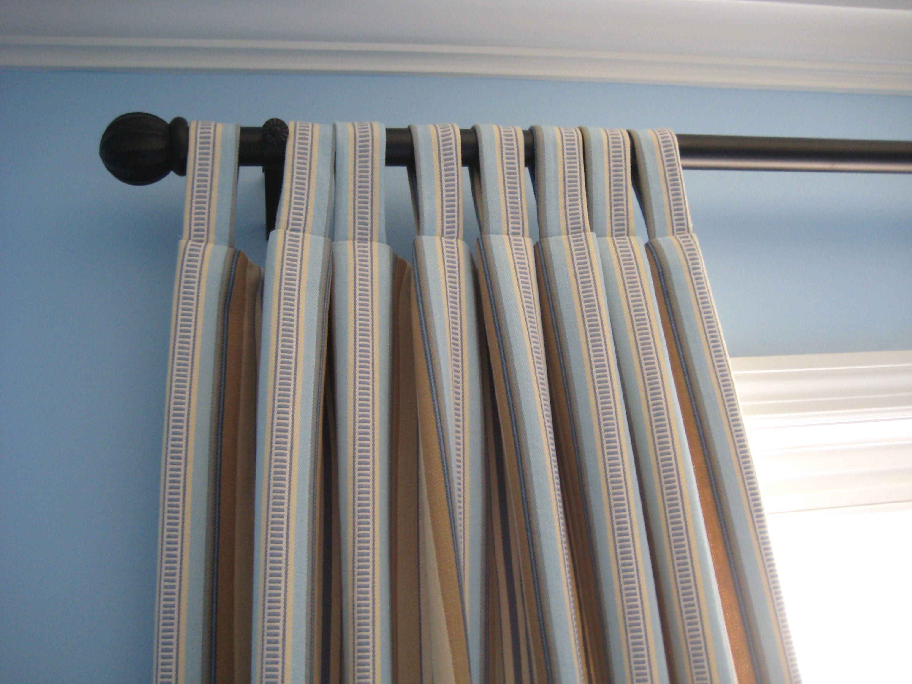 шторы на петлях