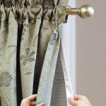 как сшить шторы на подкладке своими руками