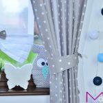 шторы со звездами дизайн идеи