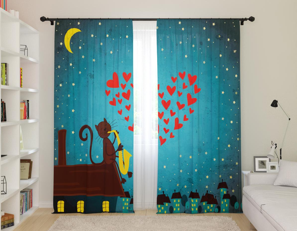 шторы со звездами идеи декора
