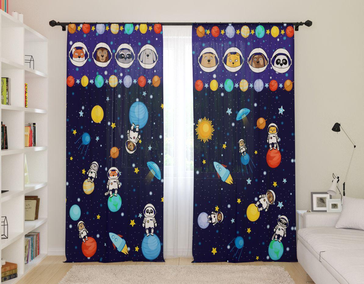 шторы со звездами виды