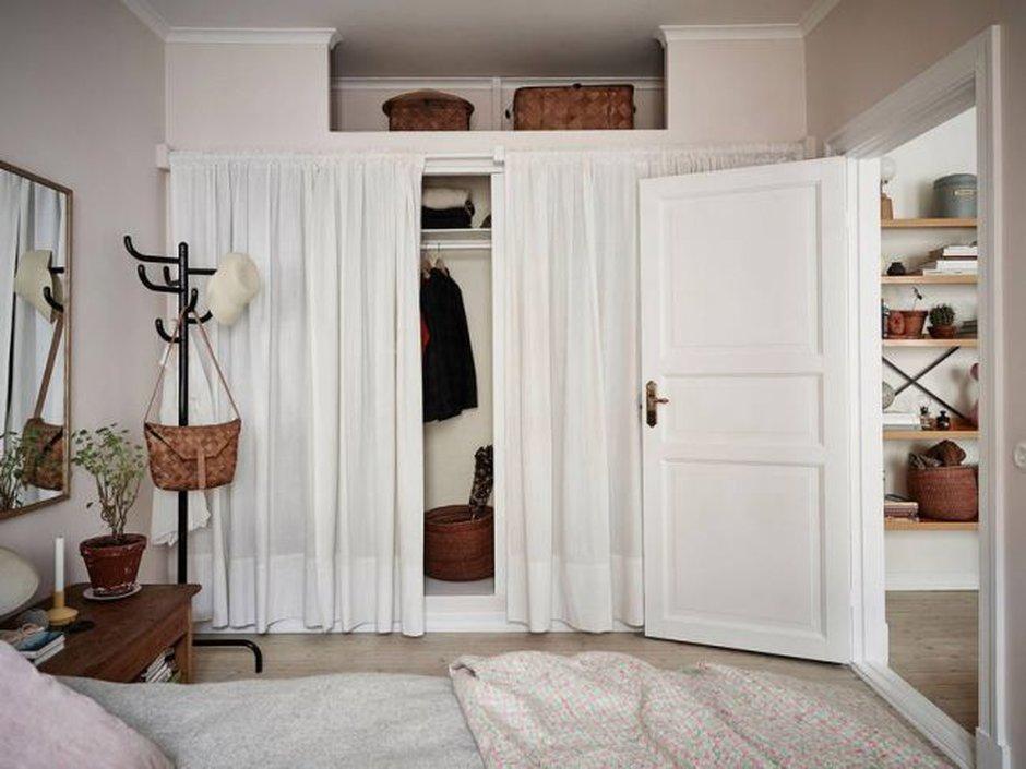 шторы в гардеробную идеи оформления