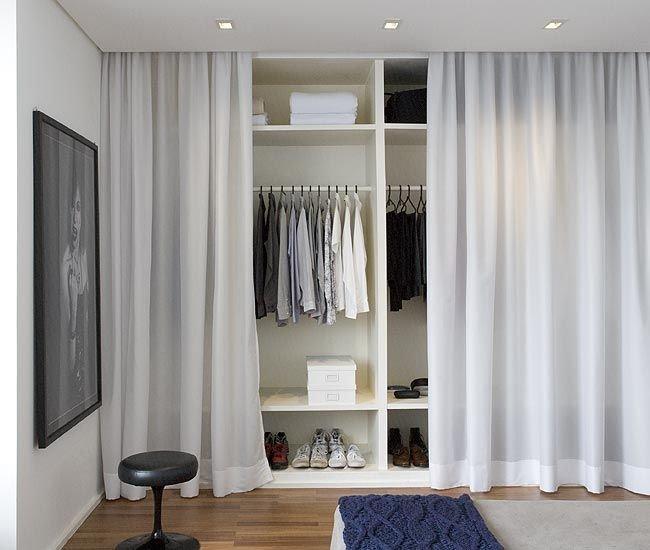 шторы в гардеробную идеи
