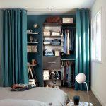 шторы в гардеробную вместо дверей декор фото
