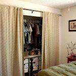шторы в гардеробную вместо дверей декор идеи