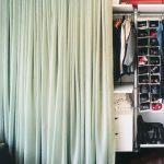 шторы в гардеробную вместо дверей дизайн фото