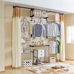 шторы в гардеробную вместо дверей фото вариантов