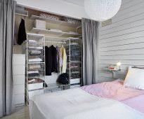 шторы в гардеробную вместо дверей идеи дизайн