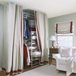 шторы в гардеробную вместо дверей идеи дизайна
