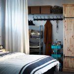 шторы в гардеробную вместо дверей интерьер фото
