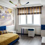 шторы в комнату подростка мальчика фото декора