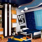 шторы в комнату подростка мальчика декор