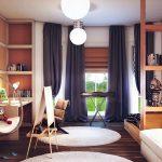 шторы в комнату подростка мальчика идеи дизайна