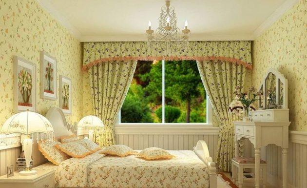 шторы в современном стиле декор